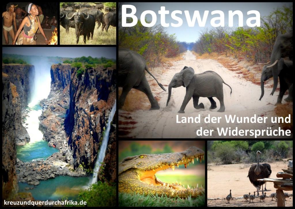 Botswana-Plakat