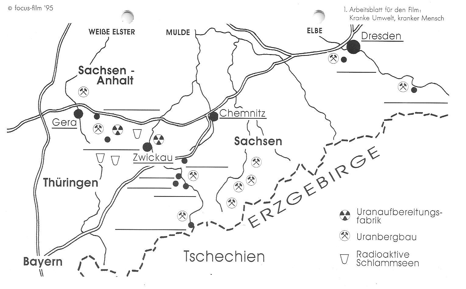 Kranke Umwelt, kranker Mensch – Uranabbau im Erzgebirge ...